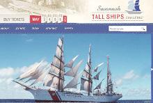 Tall Ships Challenge – Website